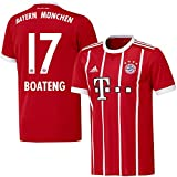 Bayern München Home Trikot 2017 2018 + Boateng 17 - XXL