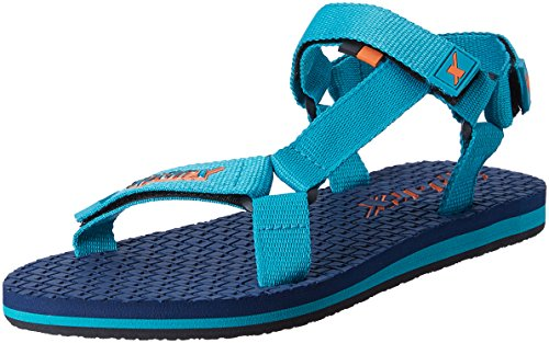 Sparx Women's Navy Blue and Turkey Blue Athletic and Outdoor Sandals - 7 UK/India (40 EU)(SS-444)  available at amazon for Rs.599