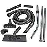 SPARES2GO Complete (1.8m/32mm) Hoover Hose Tool Brush Kit for Numatic Henry, James, Edward & Basil Vacuum Cleaners