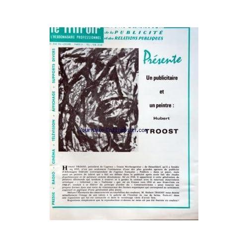 MIROIR DE L'INFORMATION DE LA PUBLICITE ET DES RELATIONS PUBLIQUES (LE) [No 216] du 02/02/1962