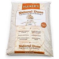 flukers Natural Dune arena de piel de serpiente, 10LB
