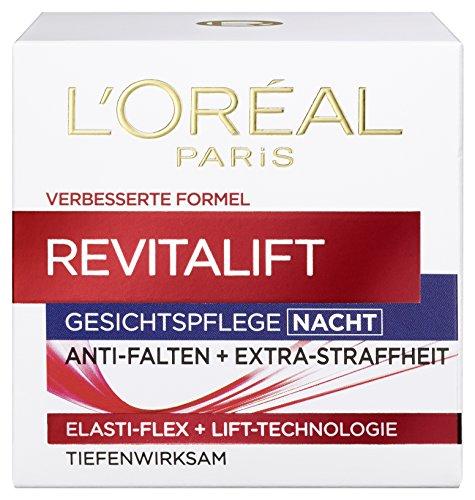 L'Oreal Paris Gesichtscreme Revitalift Anti Falten Feuchtigkeit Gesichtspflege Nachtcreme 50ml