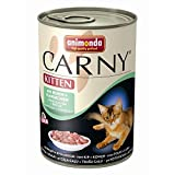 Animonda | Carny Kitten mit Huhn + Kaninchen | 6 x 400 g