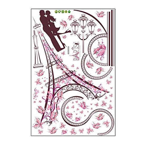 Heimbrauen & Weinbereitung,Dekoartikel,VRTYOC Wandaufkleber Romance Dekoration Wand Poster Home Decor DIY
