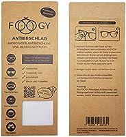 FOOGY gamuza de microfibra antivaho para gafas | paño de limpieza en seco | no se necesitan líquidos adicional
