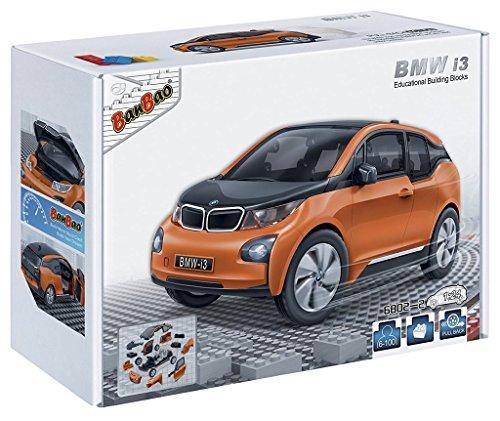 banbao-6802-2-bmw-i3-orange-construction-set-98-pcs-1-24-miniature-toy-licensed-by-bmw