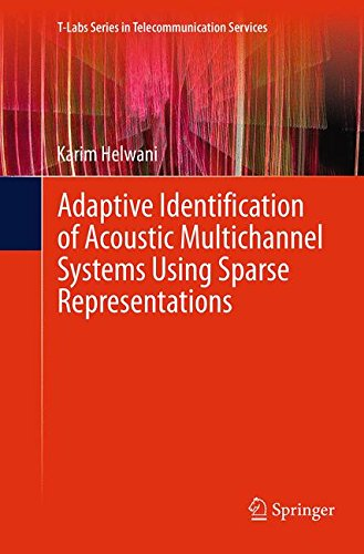 Adaptive Identification of Acoustic Multichannel Systems Using Sparse Representations (T-Labs Series in Telecommunication Services)