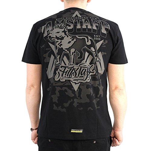 T-Shirt Amstaff Boskop Schwarz