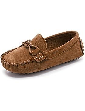 Sunny&Baby Mocasines al Aire Libre para Niños de Little Kid'S Causal Zapatos para Niños Pequeños Resistente a...