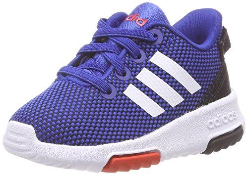adidas Unisex-Kinder Racer TR Fitnessschuhe, Blau (Azalre/Ftwbla / Roalre 000), 24 EU