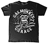 Gas Monkey Garage T-Shirt American Monkey Black-L