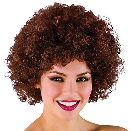 ckson 5 Funky Afro Clown Halloween Karneval Perücke - Braun (Movie-charakter Halloween-kostüm)
