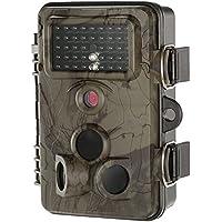 """Lixada Jagd Kamera mit Infrarot Nachtsicht und 2.4"""" LCD Display, 12MP 1080P 120 Grad Weitwinkel Scouting ¨¹berwachungskamera£¨Unterst¨¹tzung WiFi-Karte£©"""