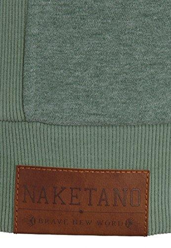 Naketano Male Zipped Jacket Birol IX Leaf Green Melange