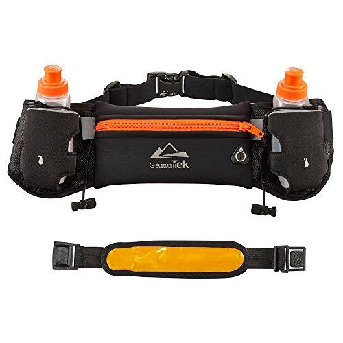 Gamut-Tek Hidratación cinturón con botellas de agua: #1 mejor recome