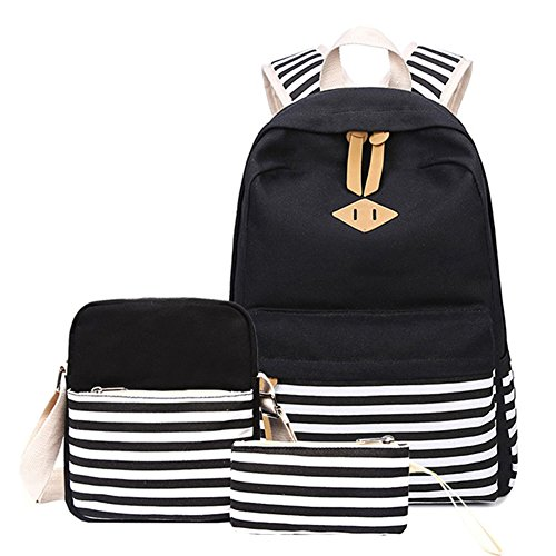Backpack Mochilas Escolares Mujer Mochila Escolar Lona Bolsa Vendimia Casual Colegio Para Chicas...