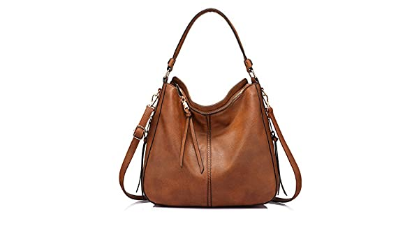 Handbags For Women Large Designer Ladies Hobo Bag Bucket Purse Faux Leather  By Realer  Amazon.in  Shoes   Handbags 97e0094706c31
