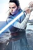 Star Wars: El último Rey Jedi Engage Póster (tamaño Grande)