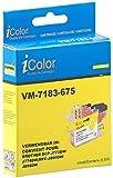 iColor Druckerpatronen: Tinten-Patrone LC-3211Y für Brother-Drucker, Yellow (Gelb) (Tintenpatronen)