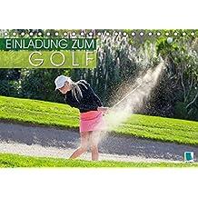Einladung zum Golf (Tischkalender 2018 DIN A5 quer): Golf spielen: Eingelocht (Monatskalender, 14 Seiten ) (CALVENDO Sport)