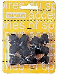 Blister de 8 Crampons nylon 8 x 13 mm + 4 x 16 mm - Visiodirect -