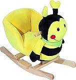 Fillikid WJ-644-1 Schaukeltier Biene VE 1, mehrfarbig