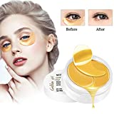 Eye Mask, Maschera per gli occhi, Maschera d'occhio del collagene, Collagene rilievi dell'occhio, Crystal Gold Collagen Eye Mask, Eye Patch, Ridurre Borse, Occhiaie e Puffiness - 60pc
