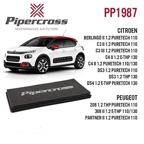 PIPERCROSS Filtre à Air pour Citroen Peugeot Puretech Divers Modèles PP1987
