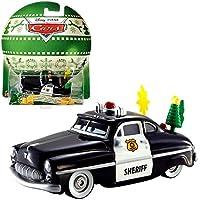 Disney Cars Cast 1:55 - Selection Car Vehicles - Edición Especial de Navidad, Cars:Sheriff