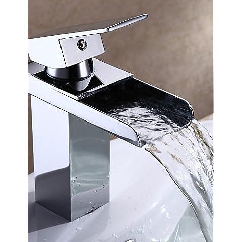 bagno personalizzato lavello rubinetto moderno cascata lavandino del bagno rubinetto