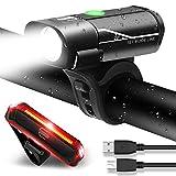 Best Luces para bicicletas - MENERUSKAN Luces de Bicicleta Recargables LED Delanteras y Review