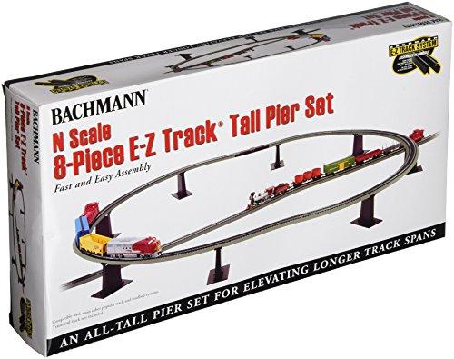 Bachmann 8Piezas E-Z Pista Tall Pier Set-Escala N