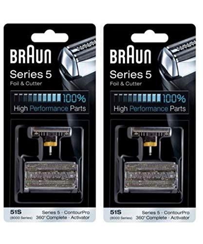 Braun Serie 5 Kombi 51 S Folie Und Cutter Ersatz Pack - 2 Pk - Serie 8000 Folie