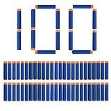 StillCool Nerf N-Strike Dardos 7,2 cm Espuma Azul 100 Piezas Dardos para Nerf N-Huelga Elite Series Blasters Toy Gun (100, Azul Oscuro)
