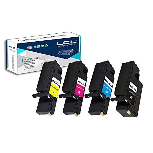 LCL Compatibile Phaser 6020 106R02759 106R02756 106R02757 106R02758 (4-Pack Nero Ciano Magenta Giallo) Cartucce di Toner per Xerox Phaser 6020 6022, WorkCentre 6025 6027 Series Printers