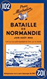 Michelin Historical Map 102: : Battle of Normandy (Michelin Historical Maps)