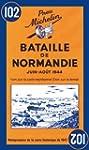 Carte Bataille de Normandie juin-aot...