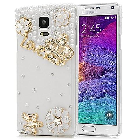 SMART LEGEND für Samsung Galaxy Note 4 Hülle Glitter Case