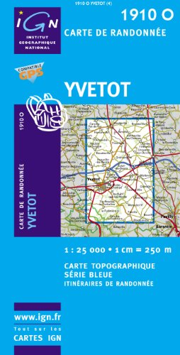 1910O Yvetot IGN Bleue par (Carte - Aug 6, 2009)