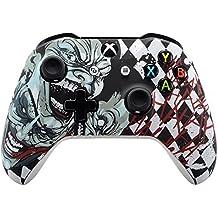 eXtremeRate Funda Carcasa Frontal Cubierta Shell Superior Antideslizante para Mando inalambrico Xbox Ones/X (Joker)
