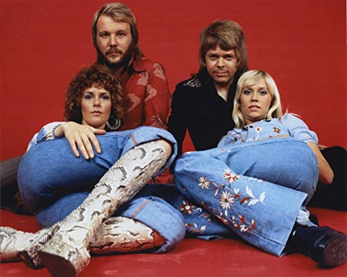 Perfect A4 ABBA Band Poster Print.