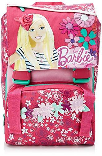 Barbie - Zaino Scuola Espandibile con Gadget, Bambina,...