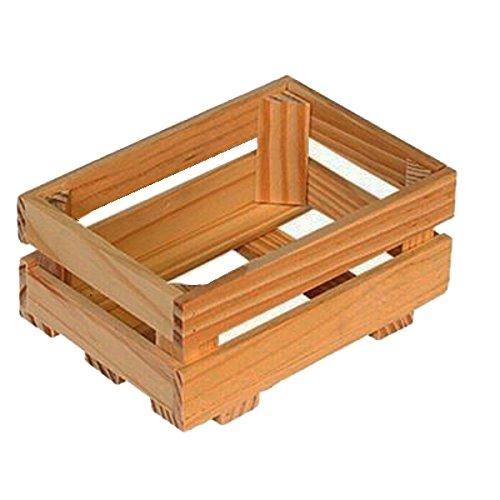 Beluga Holz Box (Medium, Mehrfarbig)