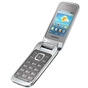 Samsung C3590 Téléphone portable débloqué 3G+ (Ecran : 2,4 pouces 1 Mo Simple SIM) Argent