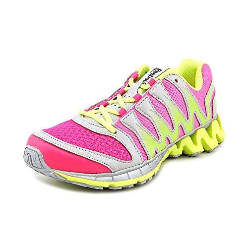 Reebok Zigkick Tahoe Strada Ii scarpa da running Neon Pink/Neon Yellow/Silver/Black/Steel
