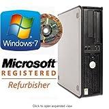 Dell OptiPlex 745 Core 2 Duo E6400 (2.13GHz) 2GB 80GB DVD Windows 7 Professional preinstalled(w/COA license and genuine installation disk)