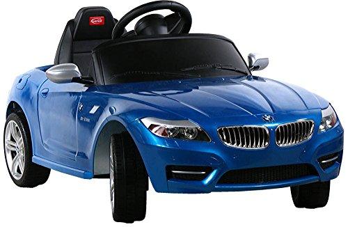Elektro Kinderauto Elektrisch Ride On Kinderfahrzeug Elektroauto Fernbedienung - BMW Z4 Roadster - Blau*