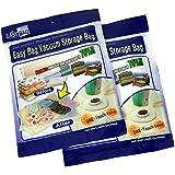 Easy Bag Vacuum Storage Bags - Set of 2 - Jumbo (120 x 92cm)