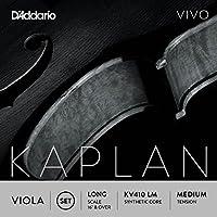 D'Addario KV410-LM Kaplan Vivo Viola Saiten Satz (Long Scale, Medium Tension)
