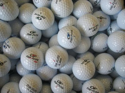 Assortiment de 50 balles de Golf Top Flite-Perle